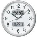 温度・湿度・デジタルカレンダー 電波時計 壁掛け時計 掛時計 KX383S セイコー SEIKO 文字入れ不可