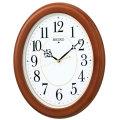暗くなると秒針を止め 音がしない 壁掛け時計 掛時計 電波時計 KX390B セイコー SEIKO 文字入れ対応、有料 取り寄せ品