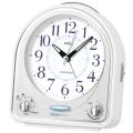 メロディ アラーム 目覚まし時計 セイコー SEIKO NR435W 文字名入れ不可 取り寄せ品