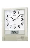 セイコー SEIKO 電波時計プログラムクロック掛け時計 PT201S 文字入れ不可 取り寄せ品