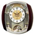 セイコー からくり時計 メロディー電波時計ウェーブシンフォニーRE564H 文字入れ対応《有料》 取り寄せ品