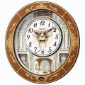 セイコーからくり時計 電波時計 壁掛け時計 RE580B ウェーブシンフォニー 【文字入れ対応、有料】 【送料無料】 【取り寄せ品】