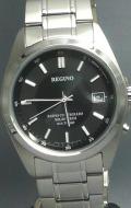 シチズン 10気圧防水の男性用ソーラー電波腕時計レグノ RS25-0344H 名入れ刻印対応、有料