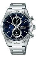 ソーラー メンズ腕時計 SBPY115 SEIKO SPIRIT 男性用 セイコー クロノグラフ  名入れ刻印対応、有料 取り寄せ品