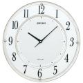 セイコー SEIKO ソーラー電波時計 壁掛け時計 SF506W 文字入れ対応 有料 取り寄せ品