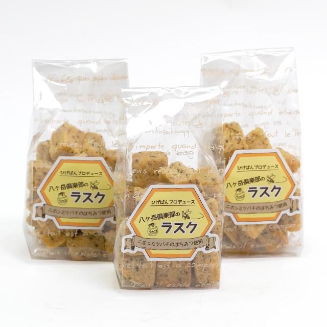 八ヶ岳倶楽部 ラスク ニホンミツバチのはちみつ使用