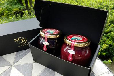 「森の宝石箱」ブラックベリージャム・ラズベリージャム2個セット(大瓶)