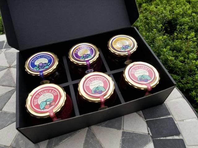 「森の宝石箱」ベリー6種類詰め合わせ(大瓶)