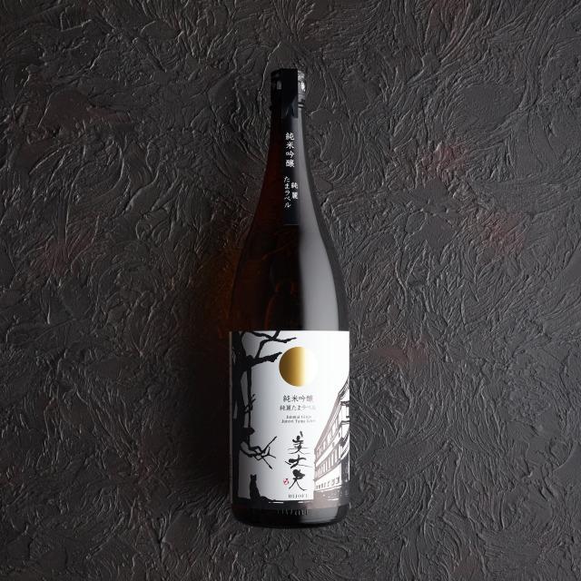美丈夫 純米吟醸 純麗 たまラベル 1.8L