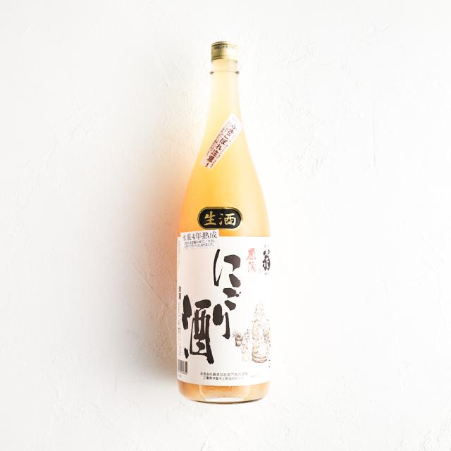 黒松翁 にごり酒 活性生原酒 19度