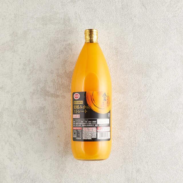 POM 完熟愛媛みかん果汁100% 1L