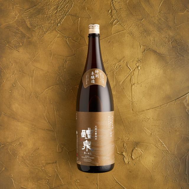 醴泉 本醸造 1.8L
