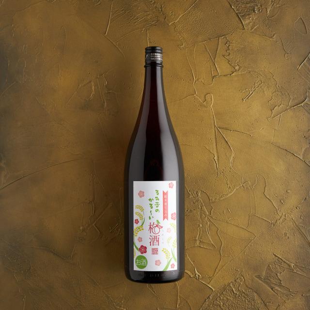 軽ーいるみ子の梅酒 10度 1.8L