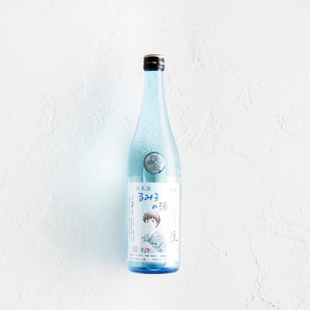 るみ子の酒 純米酒 無濾過生 14° ブルーボトル