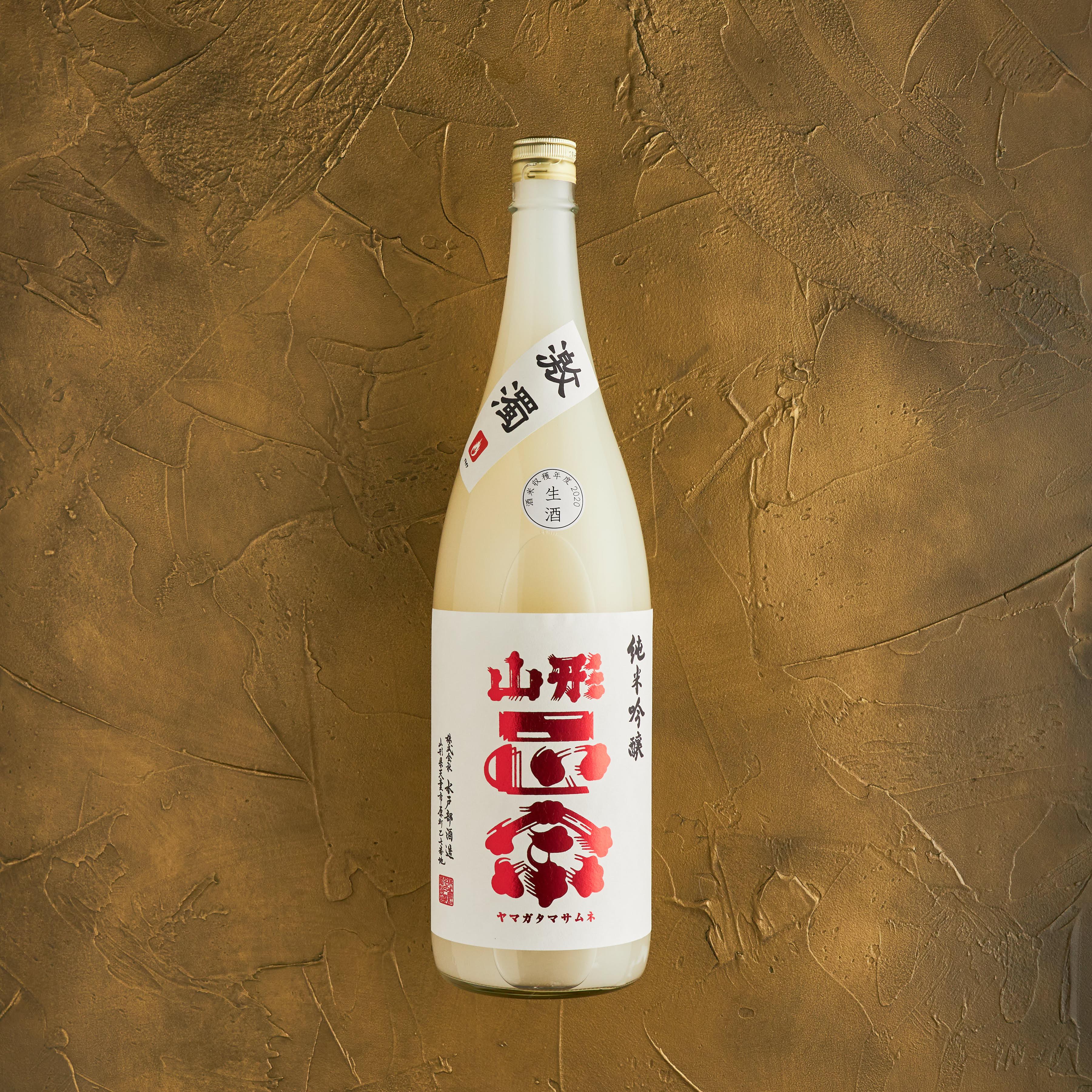 山形正宗 純米吟醸 激濁 1.8L