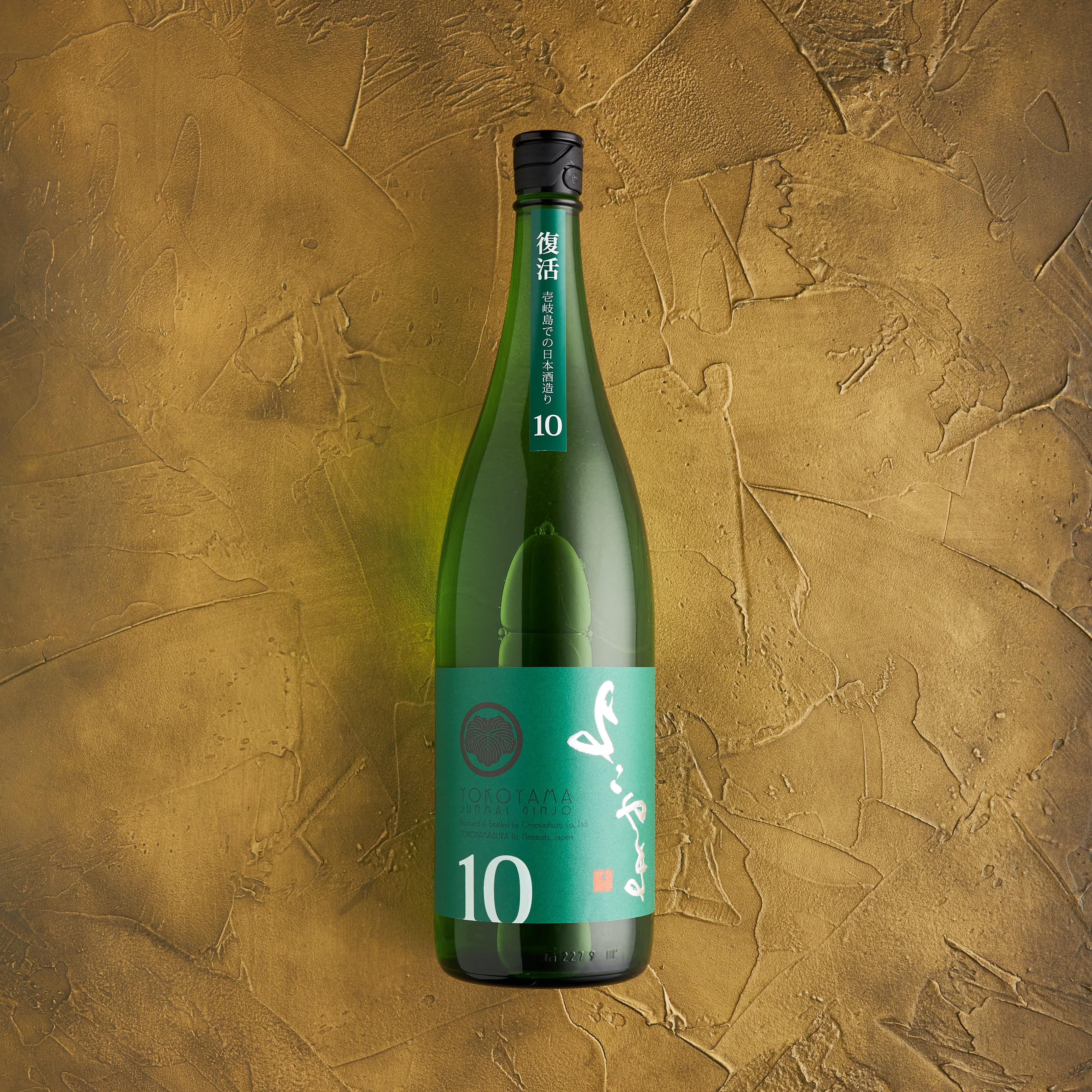 よこやま 純米吟醸 SILVER10 1.8L