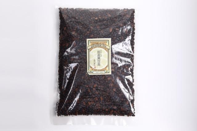 ゴールド黒豆茶1kg北海道十勝黒大豆100%