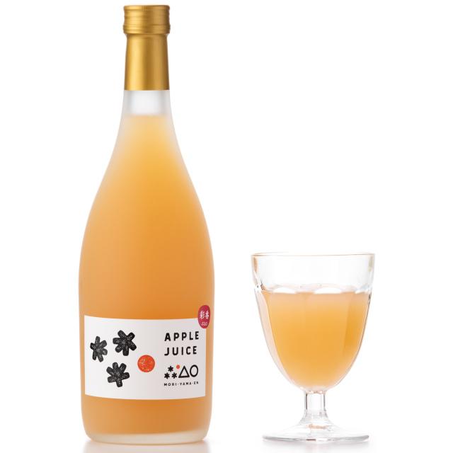 無添加りんごジュース 彩香 (720ml) 1本