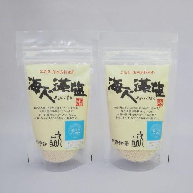 【お試し価格・送料手数料込み】海人の藻塩 100gスタンドパック 2個セット