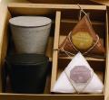 Seasoning & Case set マニニカップペア/塩/砂糖