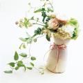 花瓶 粉引