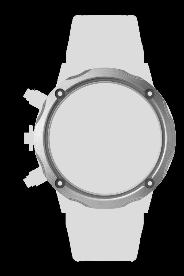 Titanium ラジエーションカットベゼル チタンシルバー