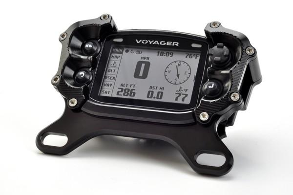 Voyagerメーター用トップマウントプロテクター:025-TM(アルミニウムマウント)