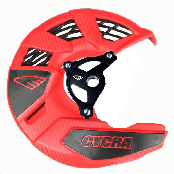 Cycra サイクラ汎用ディスクカバー8カラーバリエーションマウント付き