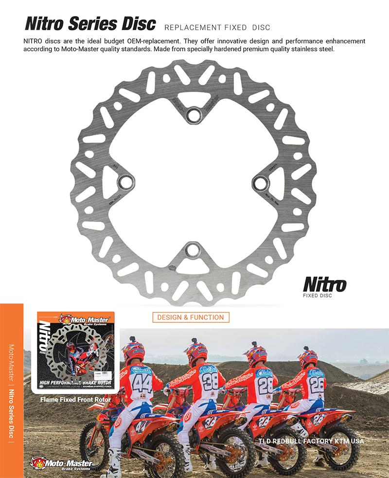 Moto-Master ナイトロリアブレーキディスク