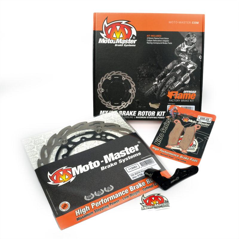 Moto-Master オーバーサイズ 270mm オフロードブレーキ強化キット