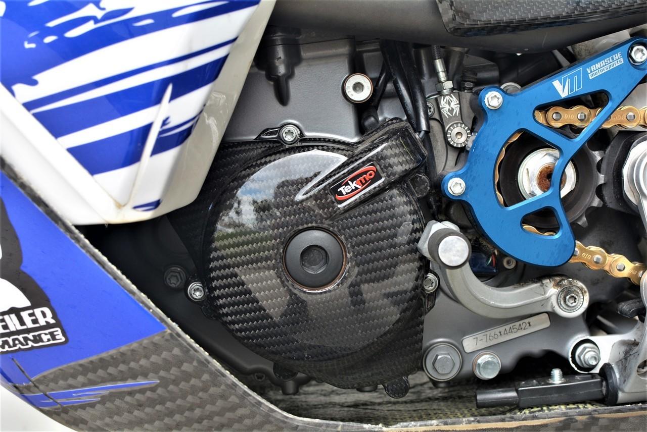 Tekmo Racing カーボンイグニッションカバー