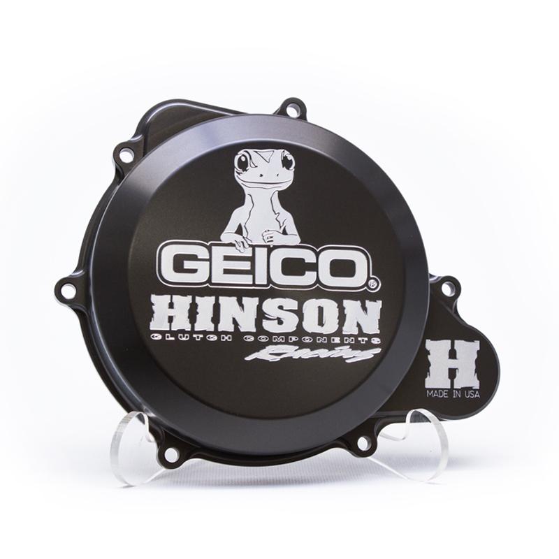 HINSON ヒンソン ★限定★ Hinson ヒンソン Geico ファクトリー ビレットクラッチカバー CRF250R 2010-2017