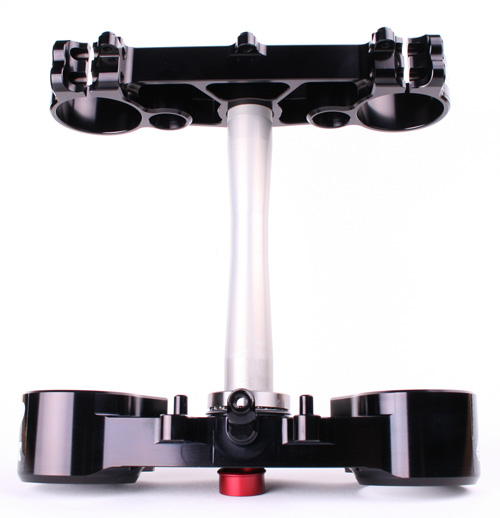 RIDE ENGINEERINGトリプルクランプキット CRF450R (02-08) CRF250R (09) ブラック 20mm オフセット