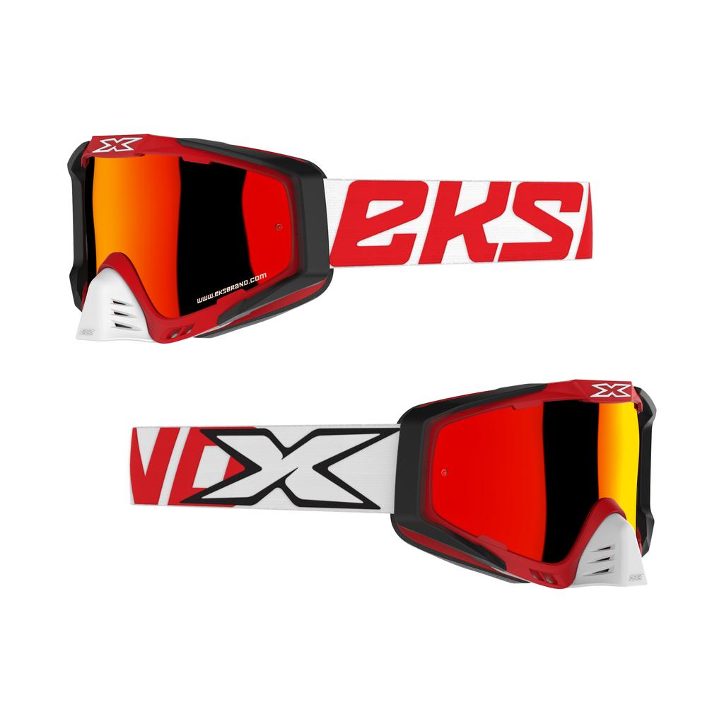 EKS-S(エックス・エス) ゴーグル レッド/ホワイト/ブラック