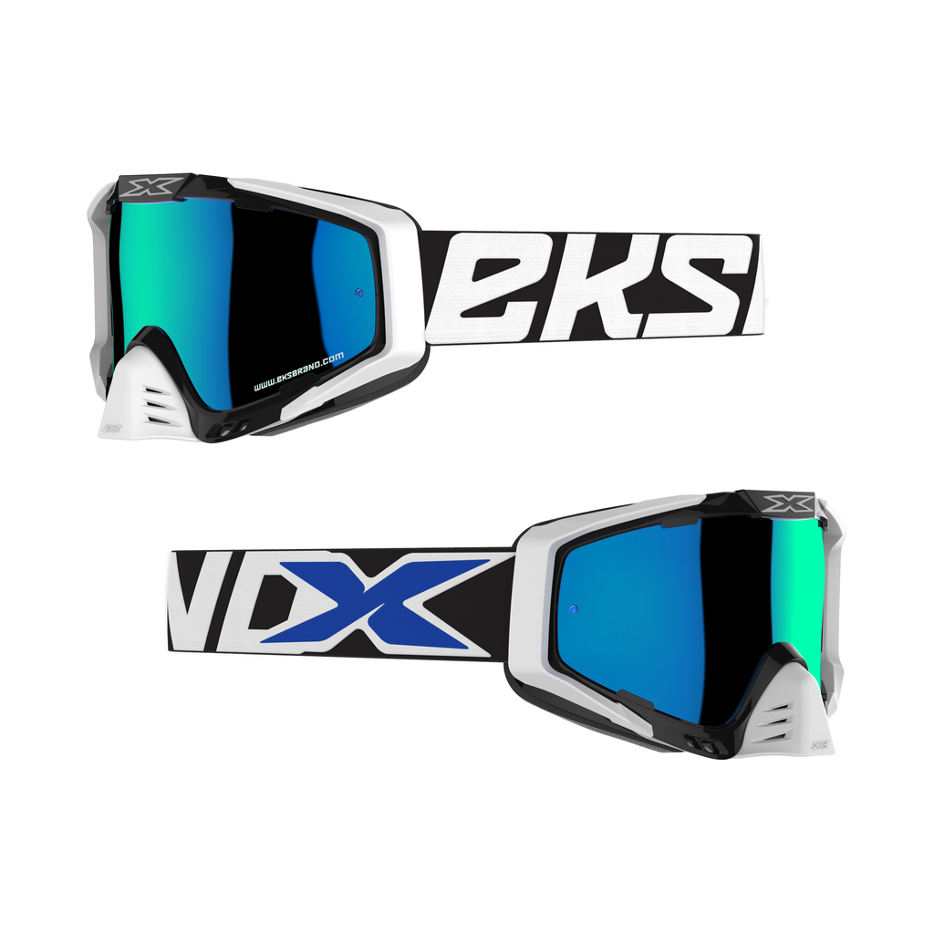 EKS-S(エックス・エス) ゴーグル ブラック/ホワイト/ブルー