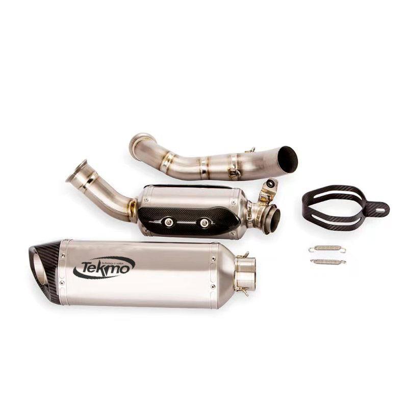 Tekmo Racing KTM 690 Duke用チタンマフラー・フルセット