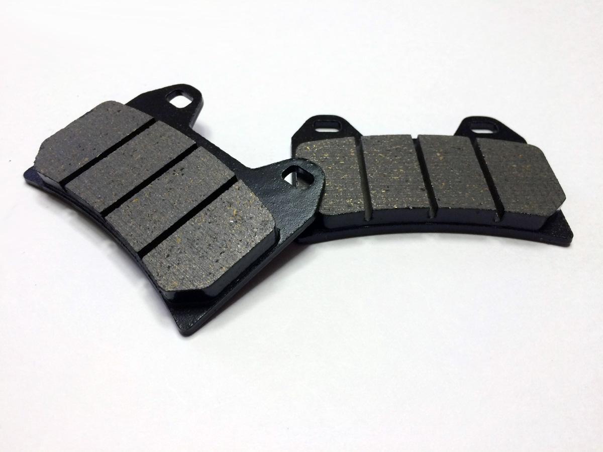 Brembo ビレット ラジアルキャリパー100/108mm用オーガニックコンパウンドのカーボンブレーキパッド