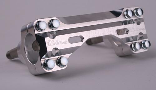 RIDE(第4世代)ハンドルバーマウントキット(ラバー) 7/8 (スタンダードバー用)KX KXF 全モデル