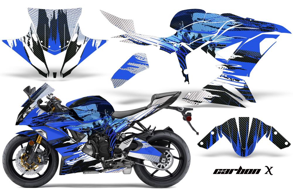 AMR デカール Kawasaki Ninja 636 ZX6-R (2013-2014) 専用グラフィック コンプリートキット EDHARDY