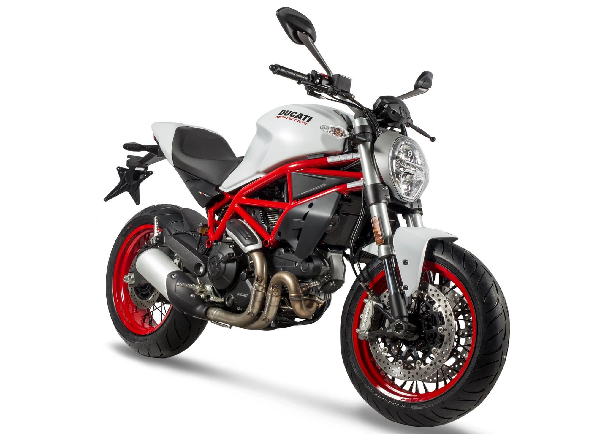 (前後セット) alpina チューブレスホイール Ducati Monster 797用