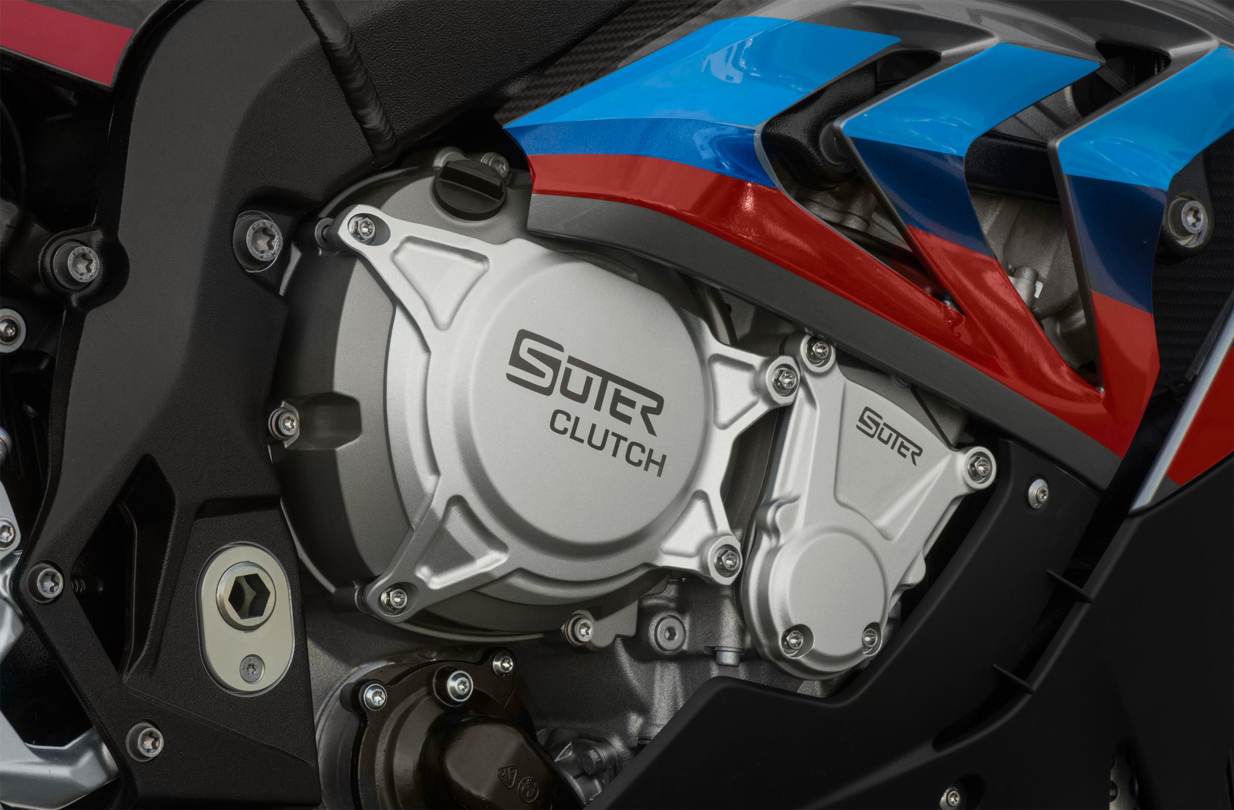 SUTER スータースリッパークラッチ BMW S1000RR/R/HP4 ビレット エンジンクラッチ2次カバープロテクター