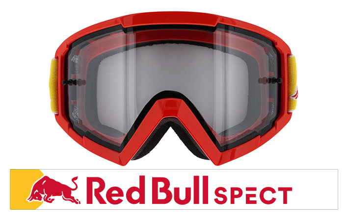 【Red Bull SPECT/レッドブル スペクト】WHIP-009 シャイニーレッドゴーグルフレーム