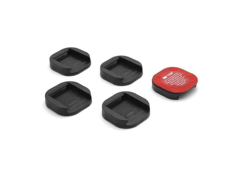 (平面) フラットスナップマウント 3M VHB両面テープ付 5個セット