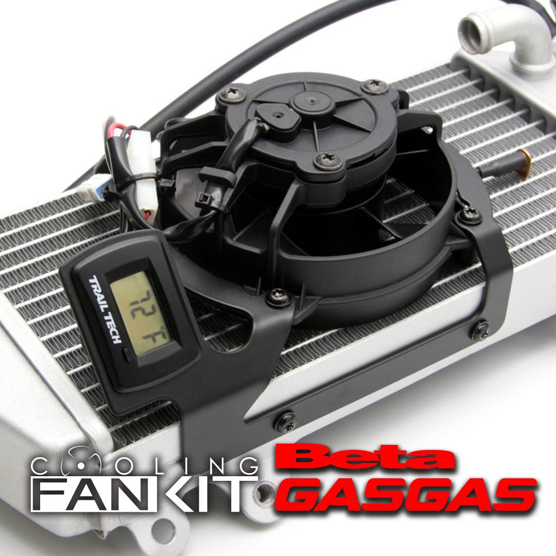 GasGas / Beta 用デジタルクーリング(冷却)ファンキット