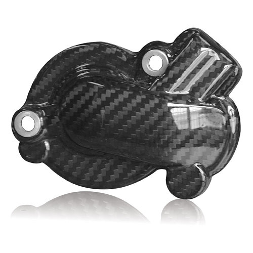 Tekmo Racing カーボンウォーターポンプカバー