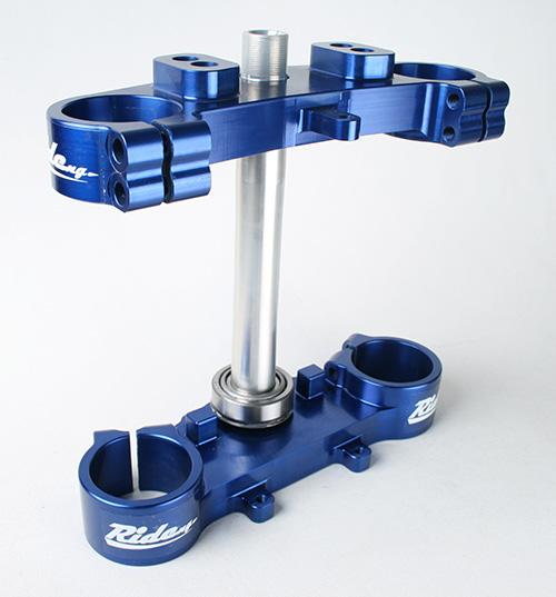 RIDE ENGINEERING トリプルクランプキット YZ85  2002-2018  ブルー