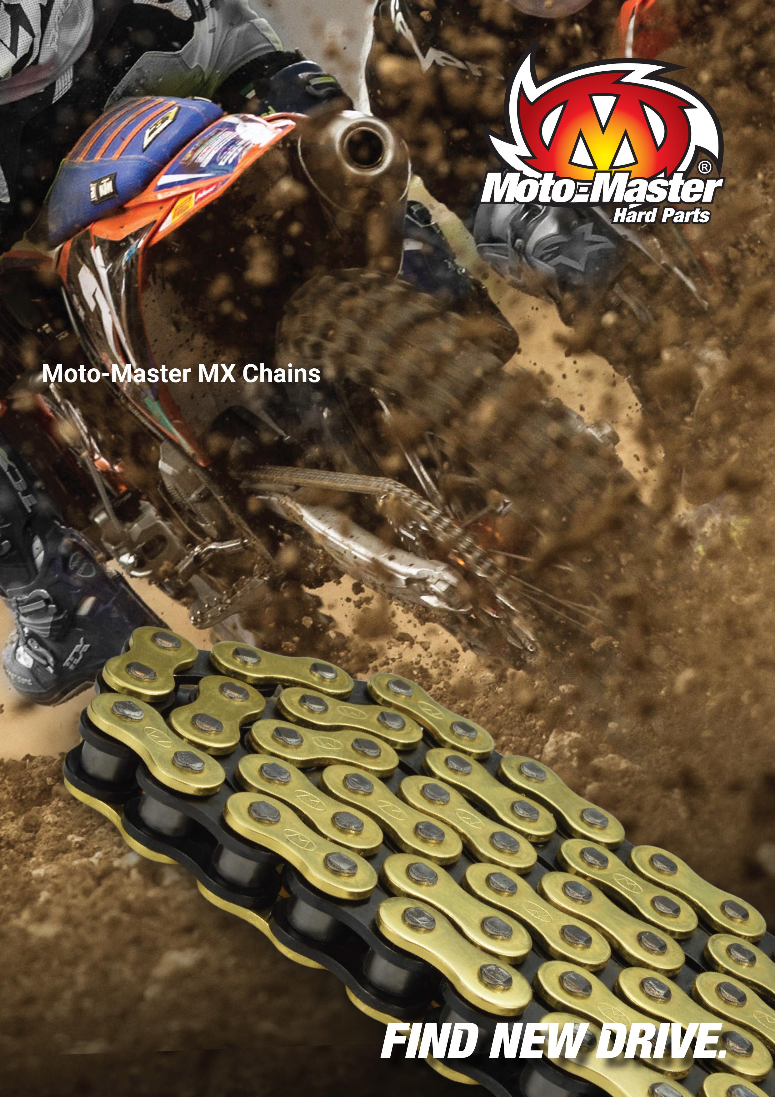 Moto-Master モトクロス/モタード用 レーシングチェーン