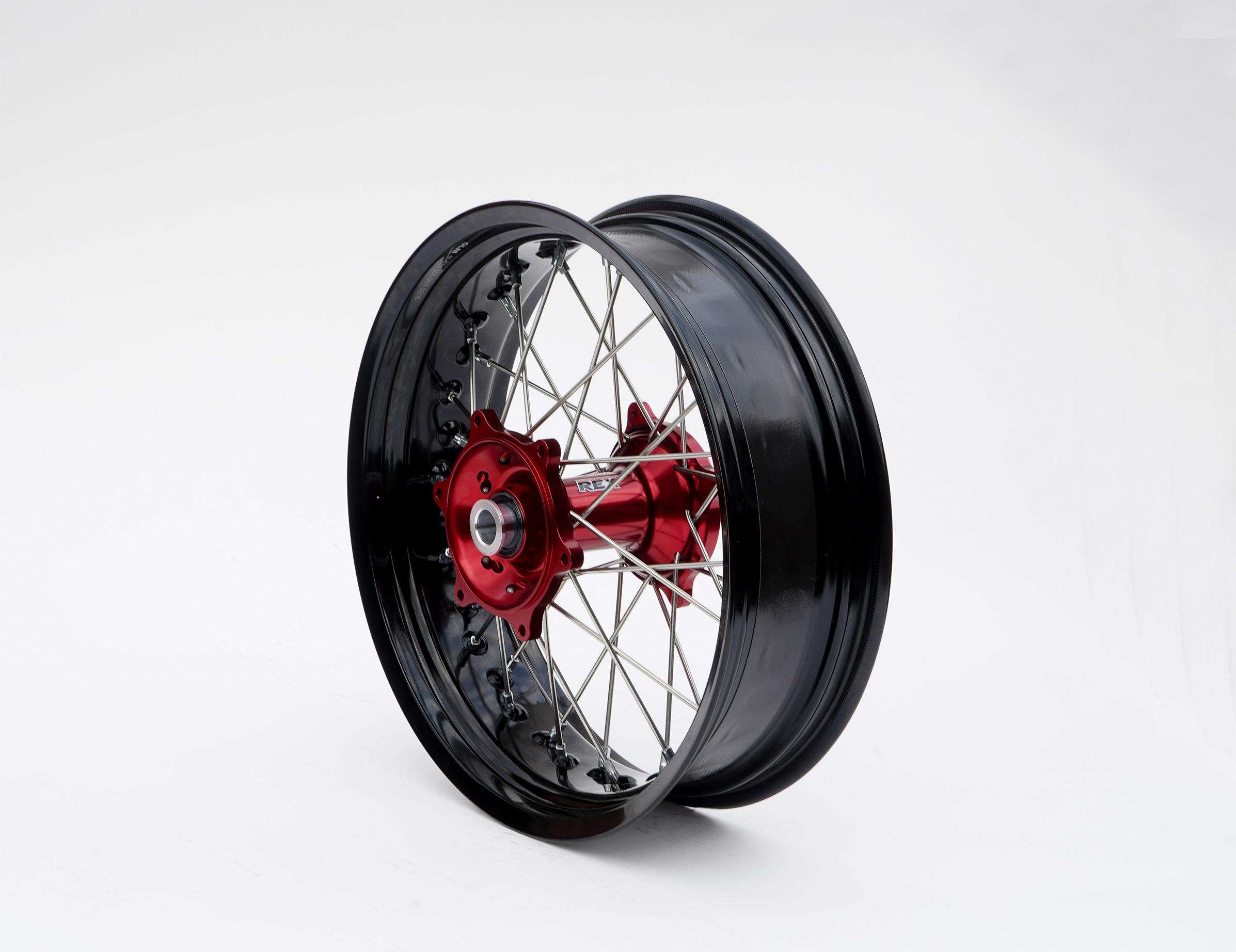 REX Honda モタードコンプリートリアホイール
