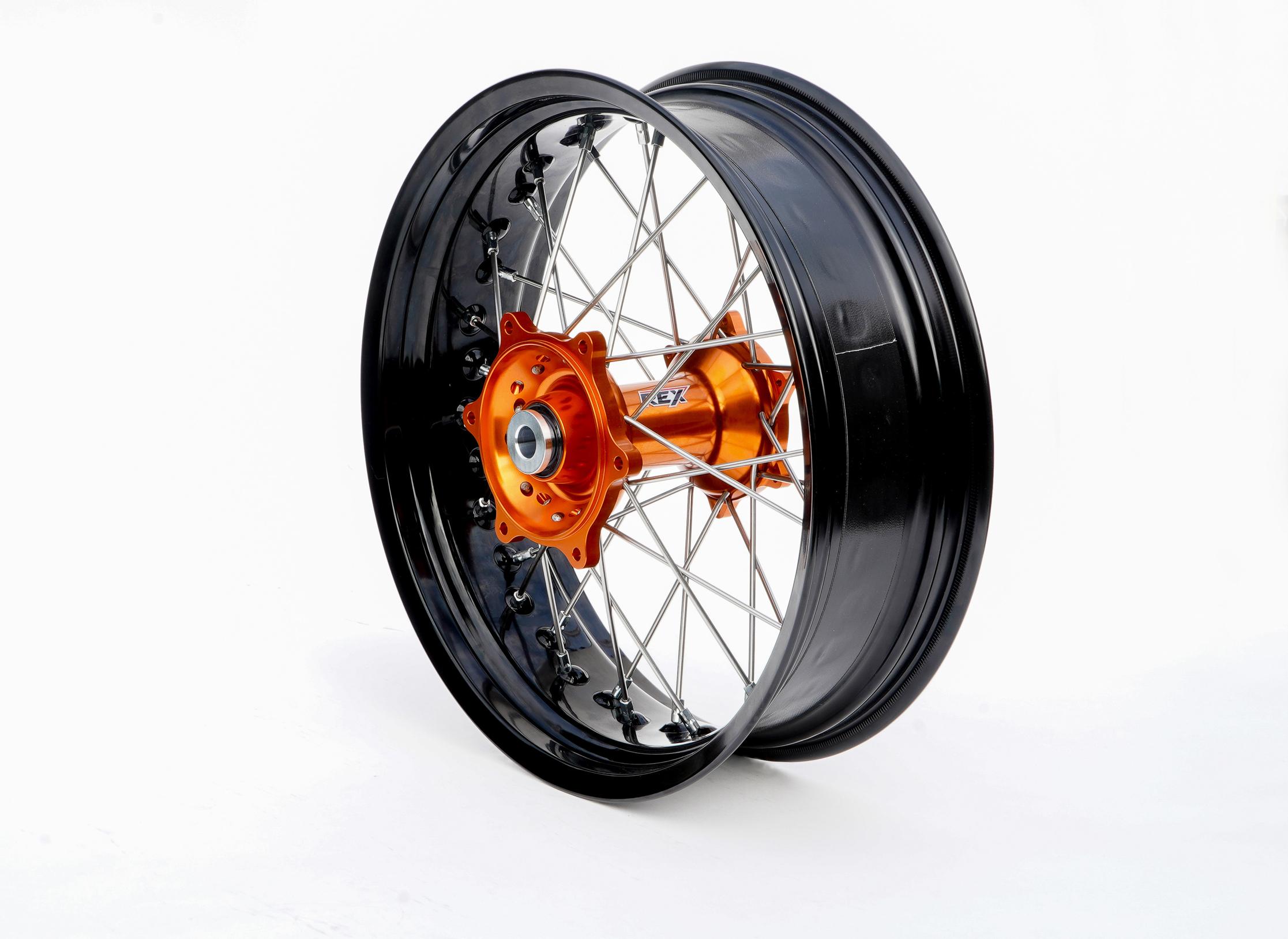 REX KTM モタードコンプリートリアホイール