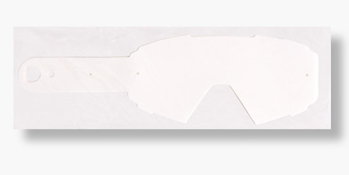オフィシャル【Red Bull SPECT/レッドブル スペクト】MX / DH ゴーグル用ティアオフ・フィルム 、10枚入り